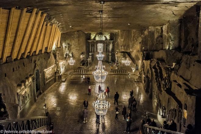 La Cattedrale di sale..spettacolo!