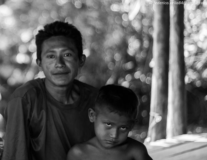 Padre e Figlio Warao-6793
